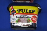 チューリップポーク ポークランチョンミート 沖縄 【チューリップポーク】【エコパック】うす塩味 340g 沖縄 ポークランチョンミート 6缶