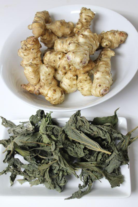 画像1: 菊芋茶(キク芋、ニトベ菊) (1)