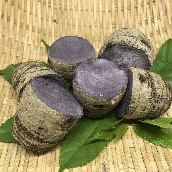 画像1: おせち料理に、沖縄料理に、田楽に、安心・フレッシュ沖縄県産野菜 タイモ(ターム)1kg (1)