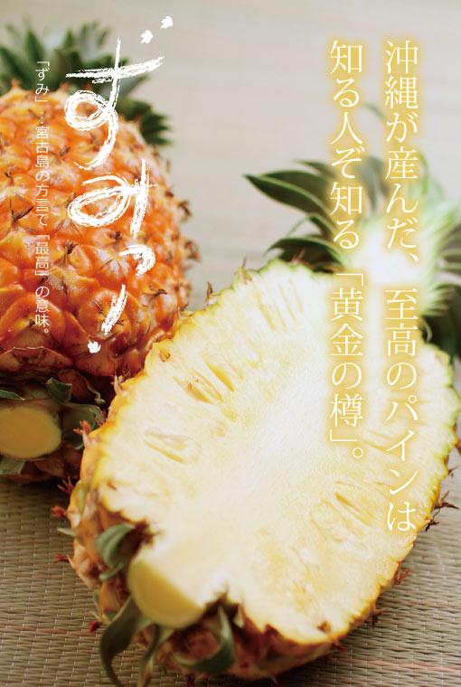 画像1: メルマガ会員は半額!【希少商品】究極のパイナップル  ゴールドバレル 1玉(約2kg〜2.5kg)!(配達日指定不可) (1)