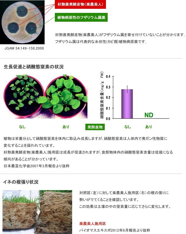 画像1: 楽農美人 好熱性微生物を用いた環境保全型の発酵液肥 5リットル (1)