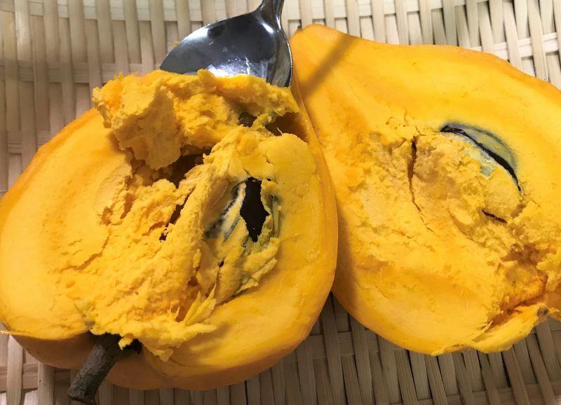 画像1: 【訳あり品】沖縄県産 完熟カニステル 約 1kg(4〜8個前後) 南国の不思議な果物(エッグフルーツ)【5kg限定】【配達日指定不可】 (1)